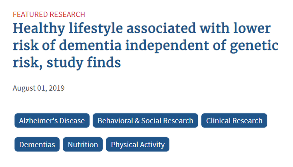 Healthy lifestyle associated with lower risk of dementia independent of genetic risk  study finds.png