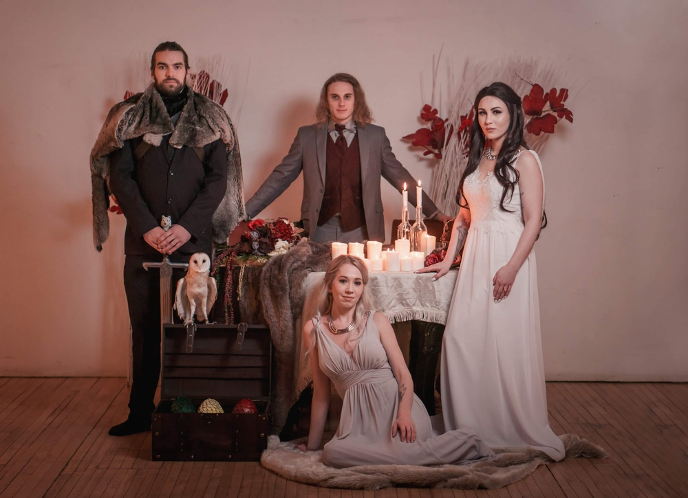 Game Of Thrones Wedding.A Marriage Of Fire And Ice A Game Of Thrones Inspired Wedding