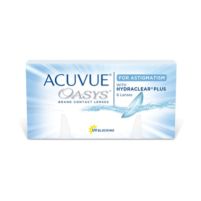 Acuvue Oasys 2 Week with Hydraclear Plus for Astigmatism