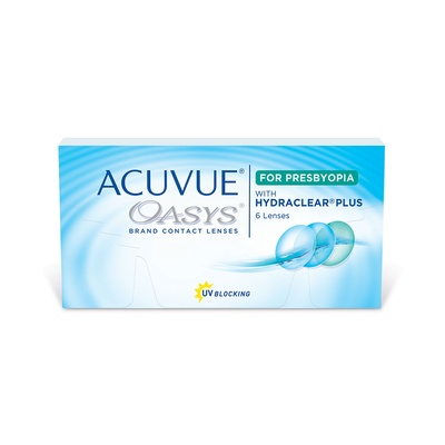 Acuvue Oasys 2 Week Multifocal for Presbyopia