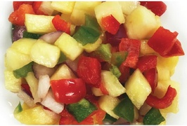 PINEAPPLE SALSA WITH RED ONION