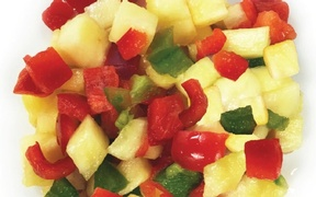 PINEAPPLE SALSA WITH JALAPENO