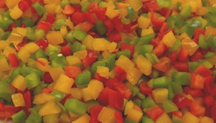 FS DICED MIXED PEPPERS