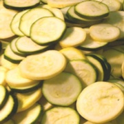 GREEN/YELLOW SLICED ZUCCHINI BLEND