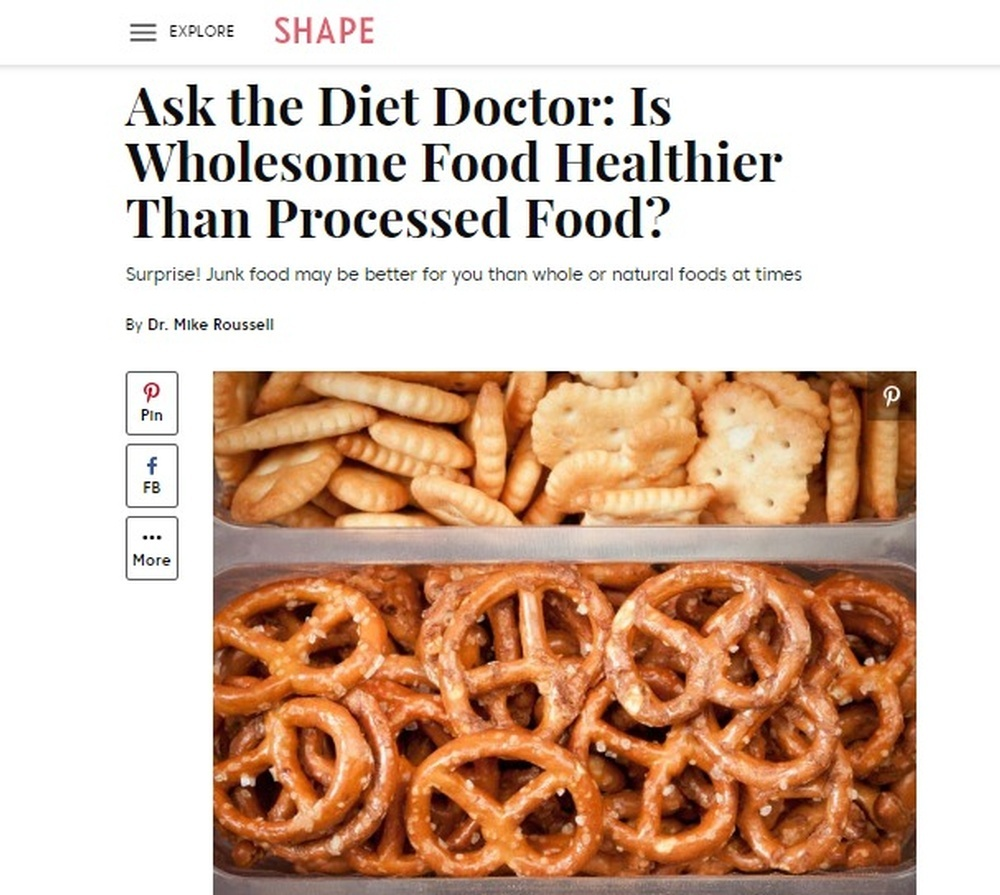Ask the Diet Doctor - Is Wholesome Food Healthier than Processed Food
