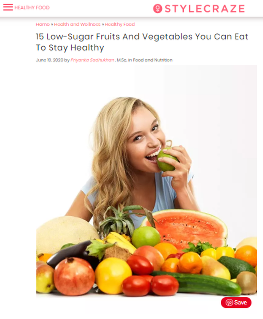 15_Low_Sugar_Fruits_And_Vegetables_For_A_Healthy_Plate