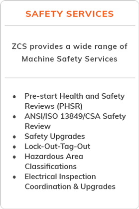 Machine Safety Services Canada