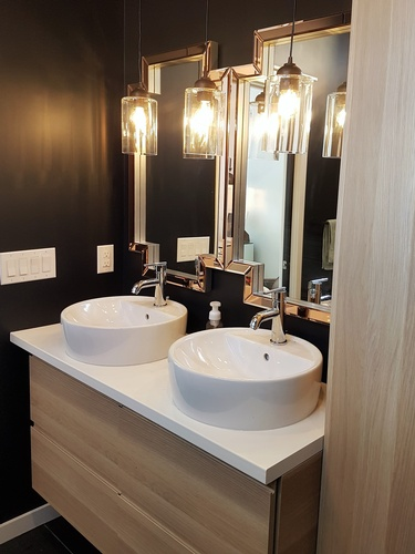 Modern Bathroom Design in Prince Charles by Herr Design