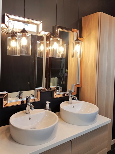 Modern Bathroom Design in Infill by Herr Design
