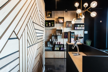 Interior Design Services for Iron Salon by Herr Design