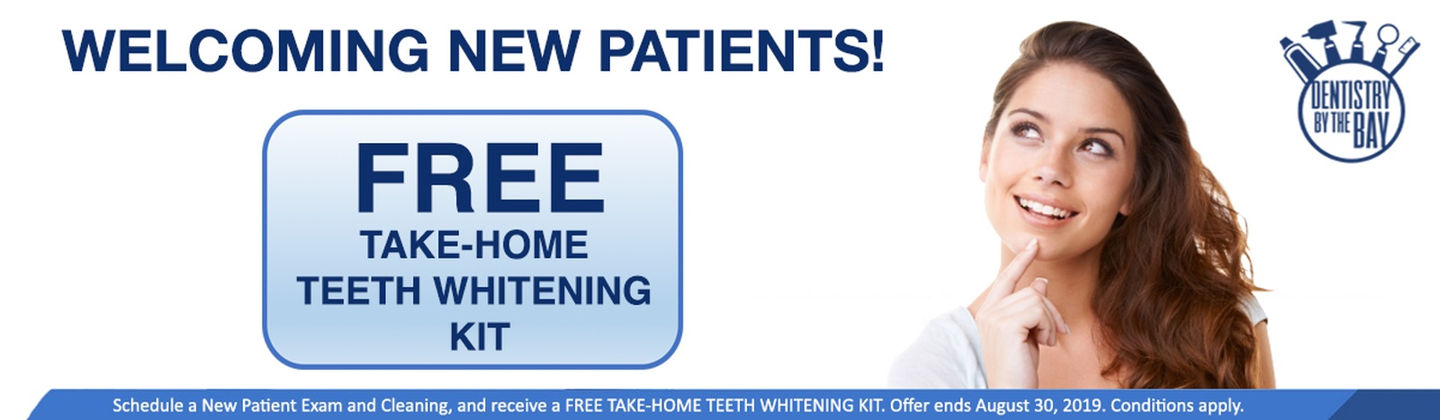 FREE TAKE-HOME TEETH WHITENING SPECIAL