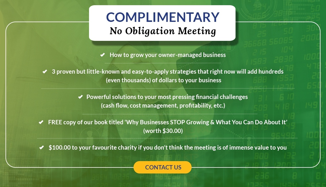 Complimentary No Objection Meeting with Morley Chartered Professional Accountant