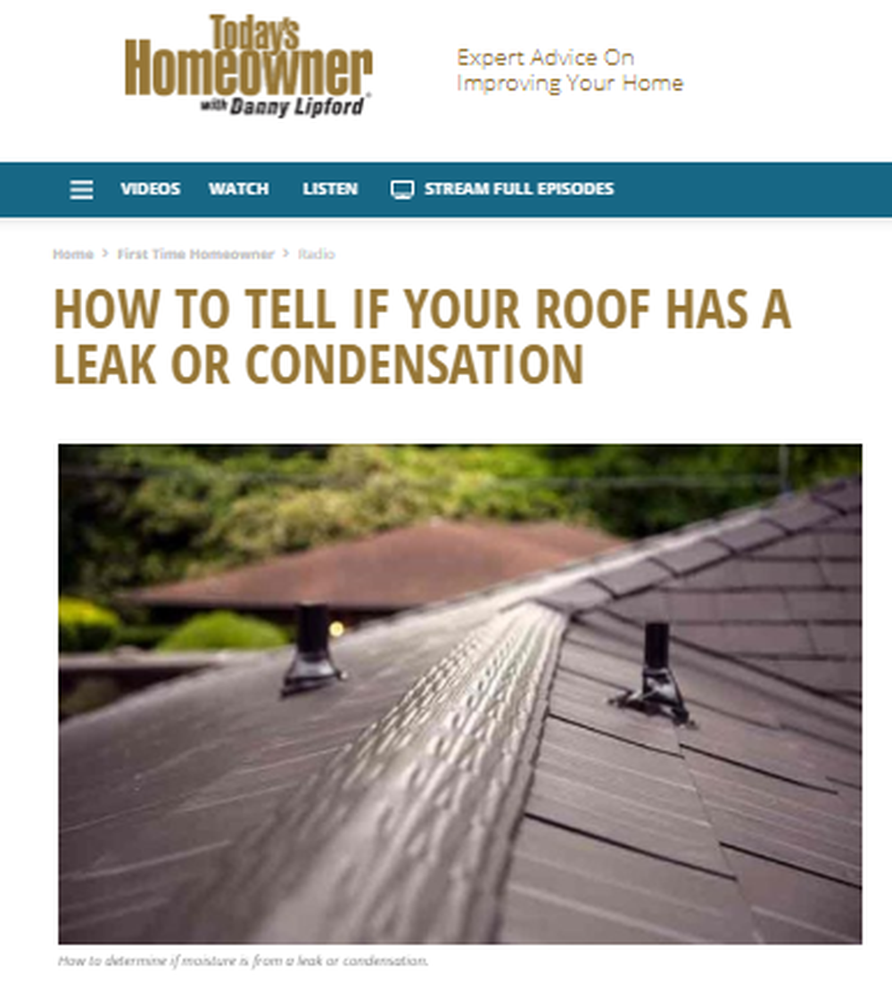 How to Tell If Your Roof Has a Leak or Condensation   Today s Homeowner (2).png