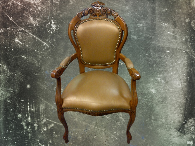 Antique Victorian Upholstered armchair by Nesco Upholstery and Design - Residential Upholstery Services,