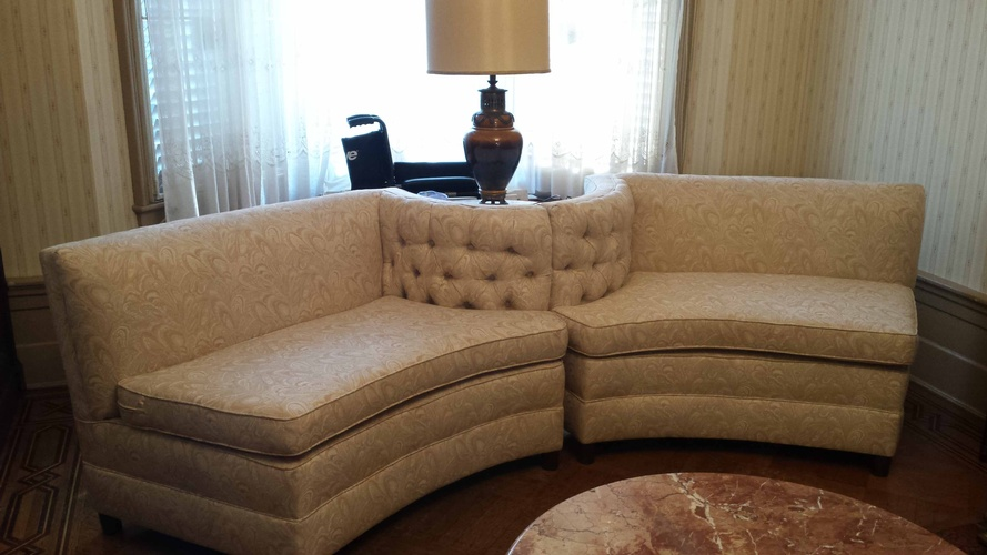 Modern Upholstered Sectional Sofa by Brooklyn Upholsterers - Nesco Upholstery and Design