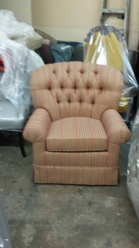 Club Chair by Brooklyn Upholsterers - Nesco Upholstery and Design