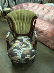 Stylish Antique Upholstered Chair by Nesco Upholstery and Design