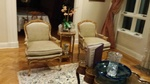Antique Leather Padded Armchairs by Manhattan Upholsterers - Nesco Upholstery and Design