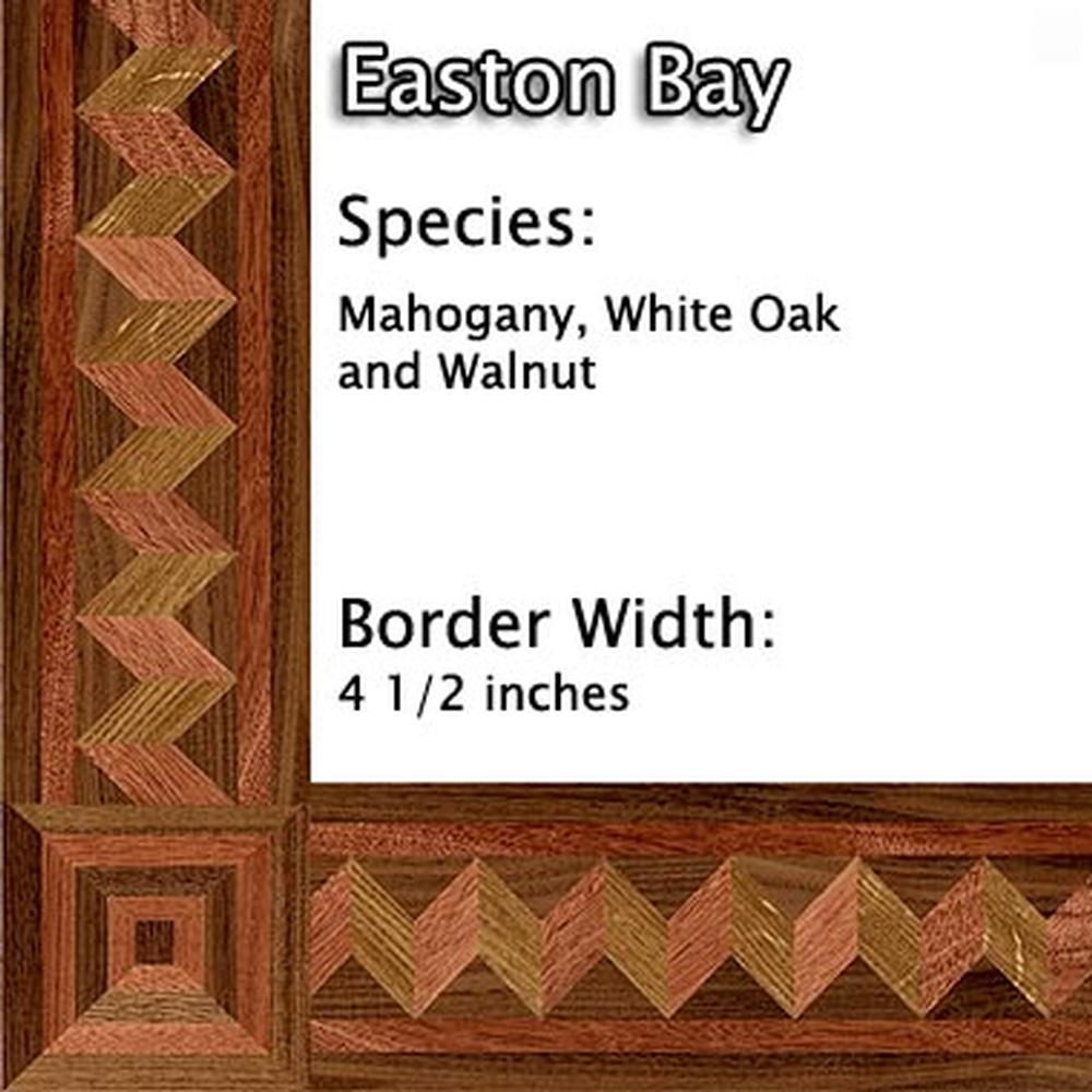 Hardwood Floor Installation With Border Medallion Detroit