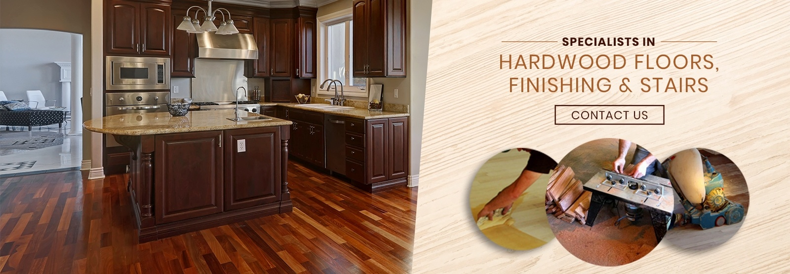Specialists in Hardwood Floors, Finishing and Stairs - Al Havner and Sons Hardwood Flooring