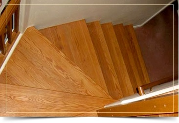 Flooring for Stairs - Hardwood Floor Installation Novi by Al Havner and Sons Hardwood Flooring