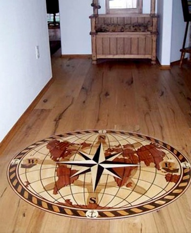 Hardwood Floor Borders & Medallions Installation Services in Dearborn Heights, Michigan