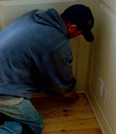 Hand Scraping - Best Hardwood Floor Installation in Livonia MI by Al Havner and Sons Hardwood Flooring