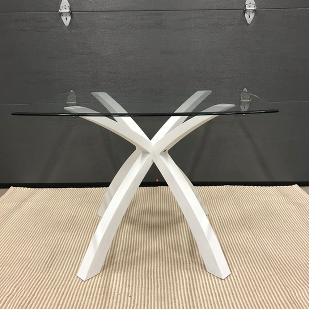 Home Designs Staging Group Inc Products Tables White X Base