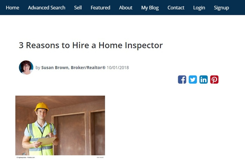 3 Reasons to Hire a Home Inspector - Susan Brown  Broker Realtor®.jpg