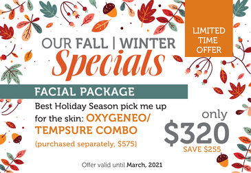 Fall Specials 2020 Facial Package
