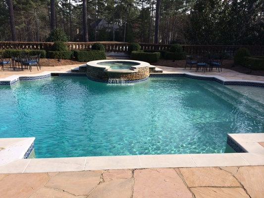 Pool remodeling in Alpharetta