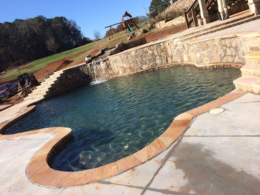 Commercial pools in Alpharetta
