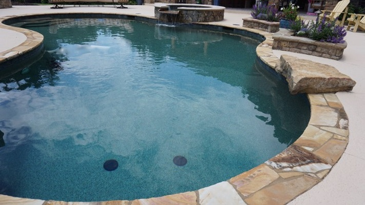 Commercial Swimming Pool Construction by Bellagio Pools - Residential Pool Contractor Forsyth