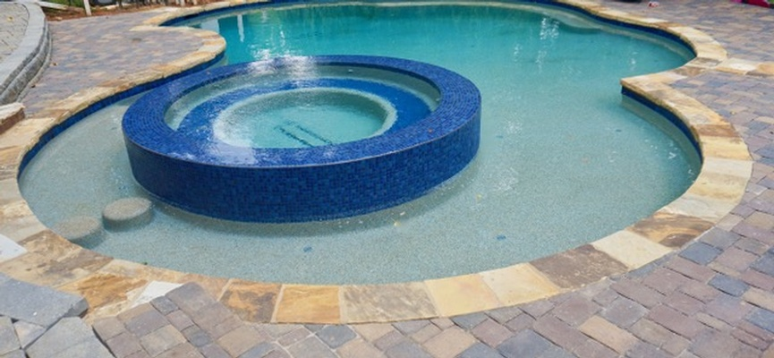Modern Swimming Pool Construction by Bellagio Pools - Commercial Pool Contractor in Alpharetta GA