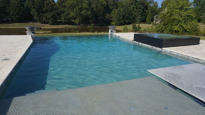 Commercial Swimming Pool Construction by Bellagio Pools - Residential Pool Contractor Alpharetta GA