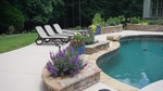 Patio Pool Construction in Gwinnett County GA by Bellagio Pools