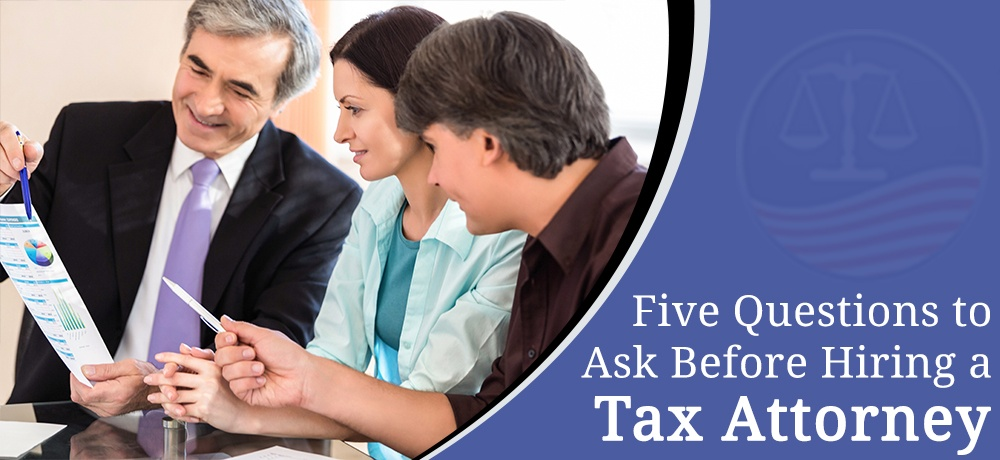 Five Questions To Ask Before Hiring A Tax