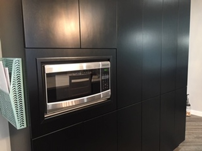 Built in Microwave Cabinet - Kitchen Renovations Chelmsford by INTERIORS by NICOLE