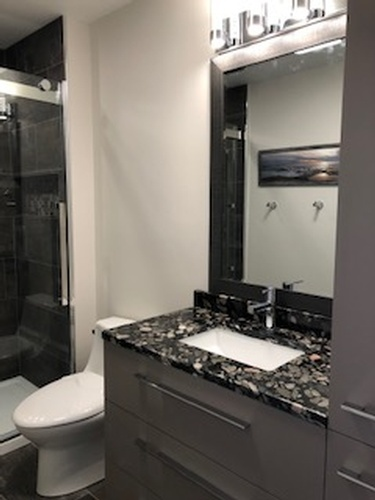 Modern Bathroom Vanity - Bathroom Interior Design Services Chelmsford by INTERIORS by NICOLE