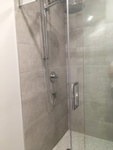 Shower Room with Glass Door - Bathroom Interior Design Walden by INTERIORS by NICOLE