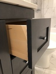 Bathroom Base Cabinet with Drawer - Home Renovations Valley East ON by INTERIORS by NICOLE