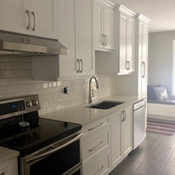 Modular Kitchen with Cabinets - Kitchen Renovation Whitefish ON by INTERIORS by NICOLE