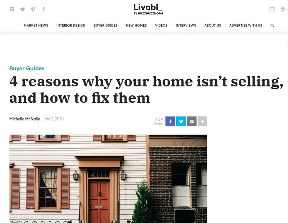 4 reasons why your home isn't selling  and how to fix them