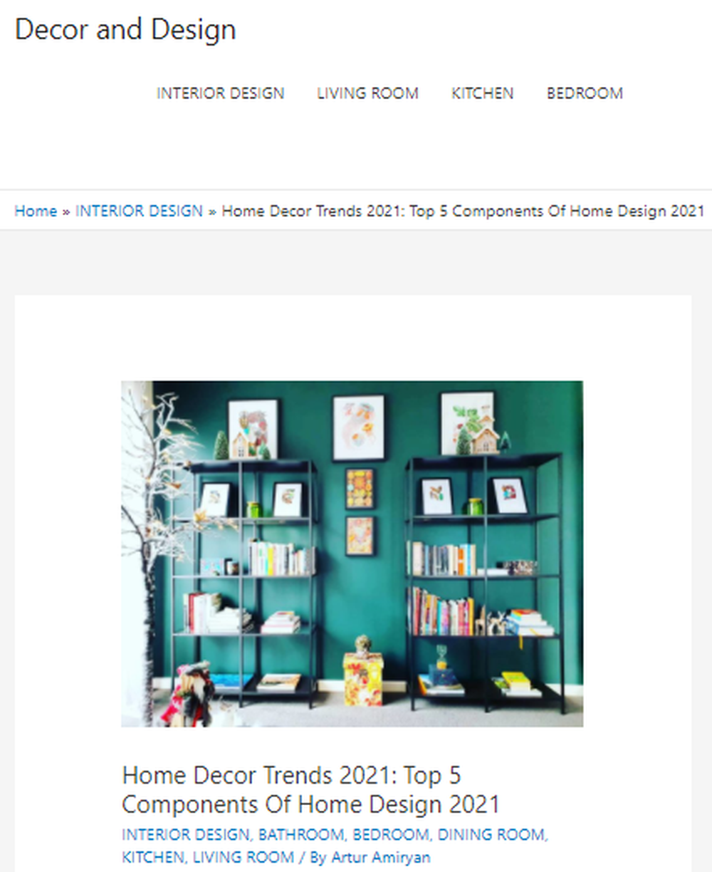 Home Decor Trends 2021 - Top 5 Components Of Home Design 2021
