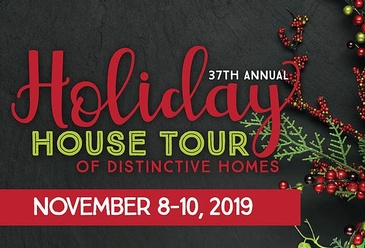 37th Annual Holiday House Tour of Distinctive Homes by Destined Dreams