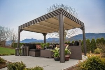 Buy High Quality Open Air Gazebos offered by Beachcomber Lloydminster
