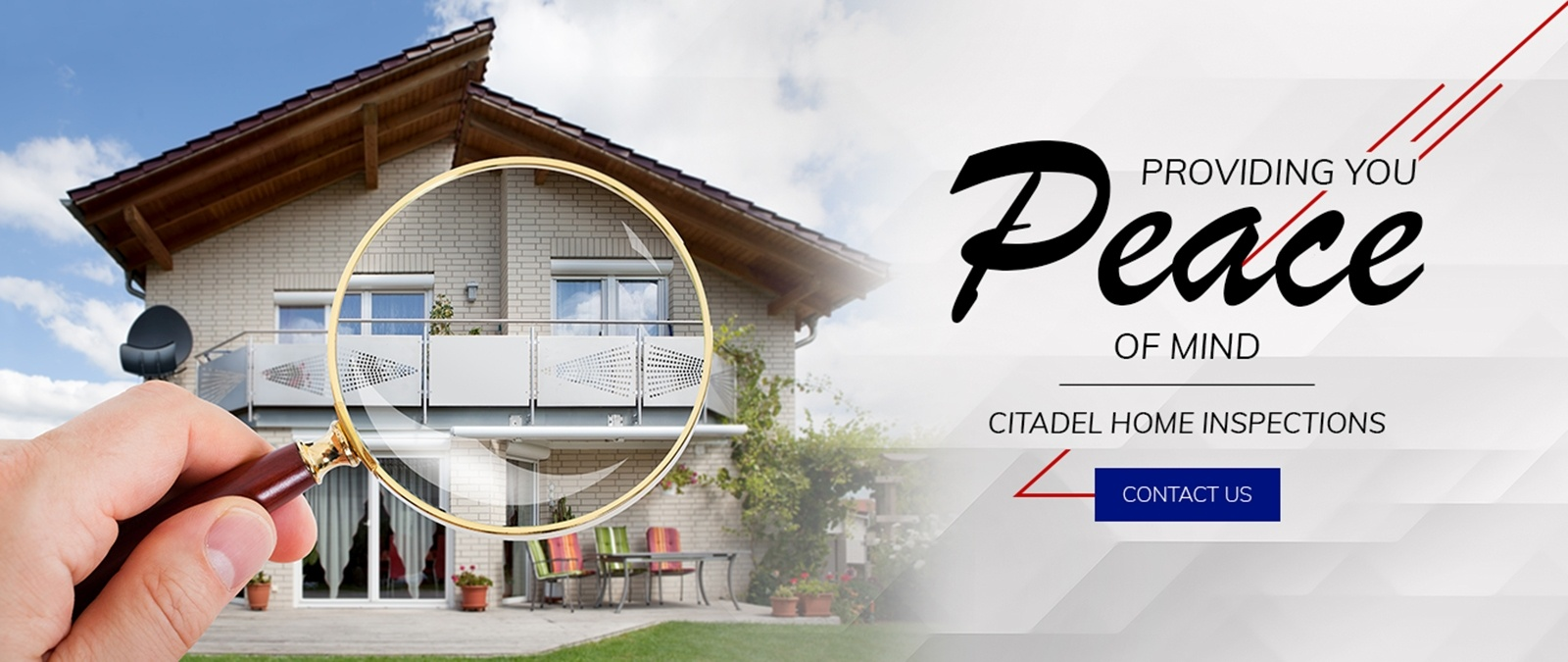 Providing you Peace of Mind - Citadel Home Inspections