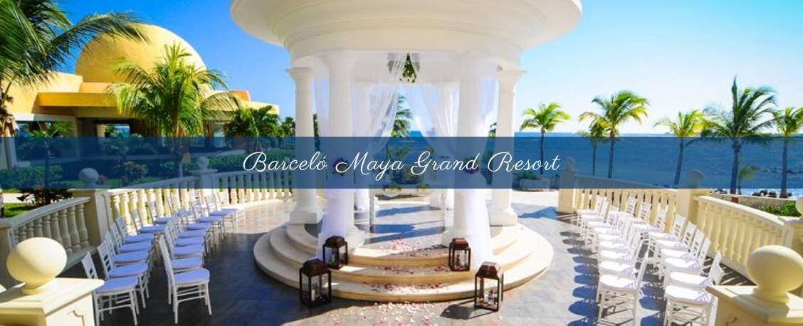 Destination Wedding Packages for barcelo maya grand resort