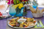 Delicious Food at St. Martin/St. Maarten Destination Wedding planned by Ontario Wedding Planner - My Wedding Away