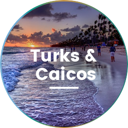 Destination wedding venue at Turks and Caicos